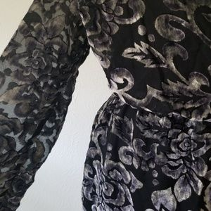 Altar'd State Pants - Altar'd State Sexy Black Velvet Matina Romper L